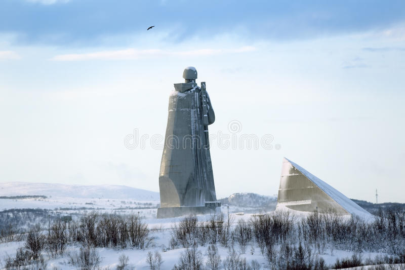 Alyosha-Monument stockbild