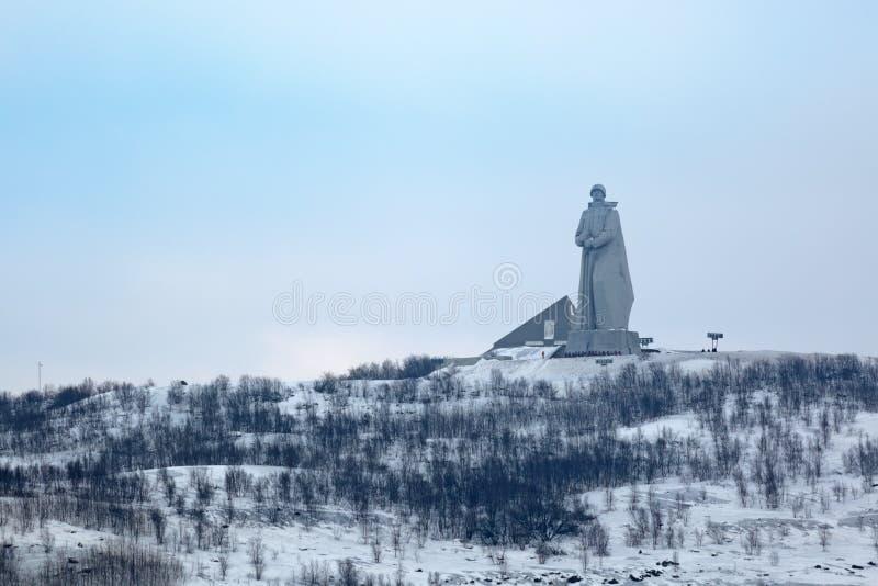 Alyosha-Monument lizenzfreie stockfotografie