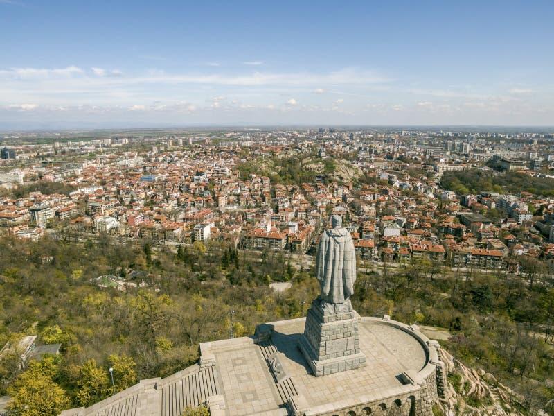 Alyosha-Monument in Plowdiw lizenzfreies stockfoto