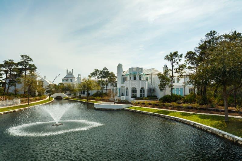 Alys Beach Florida imagen de archivo libre de regalías