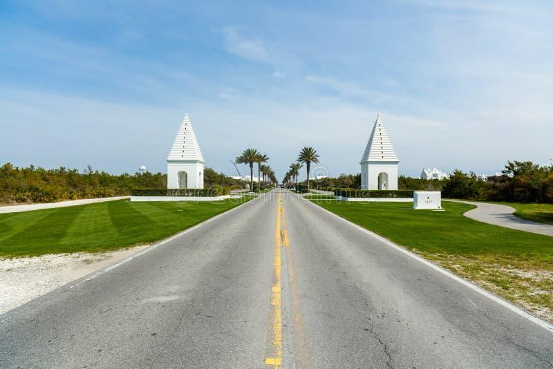 Alys Beach Florida foto de archivo