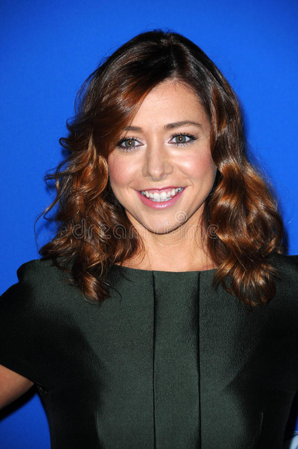 Alyson Hannigan royalty-vrije stock fotografie