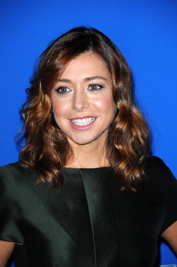 Alyson Hannigan photos stock