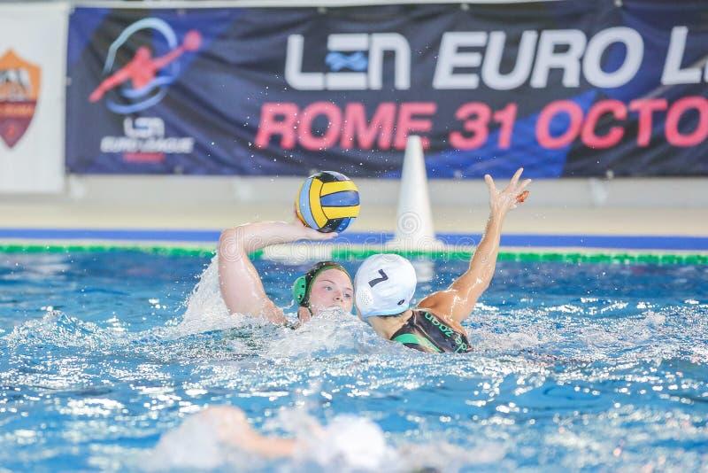 Waterpolo EuroLeague Women Championship ZV De Zaan vs Exile SG stock photo