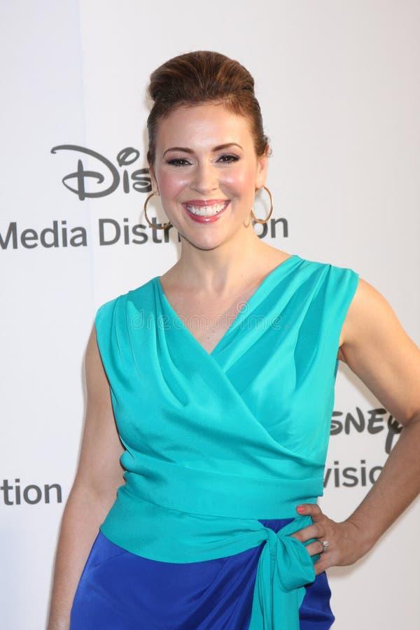 Download Alyssa Milano Arrives At The ABC / Disney International Upfronts Editorial Stock Photo - Image: 25283833