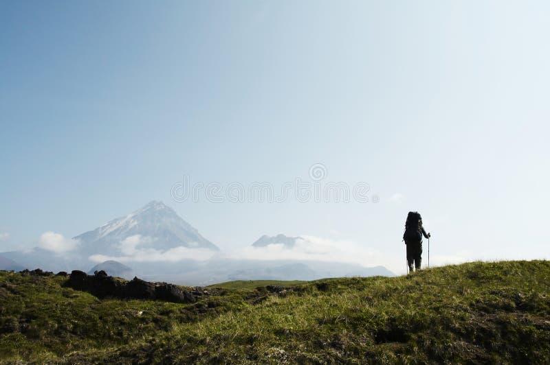 Alza en Kamchatka foto de archivo