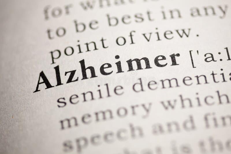 Alzheimer stock photography