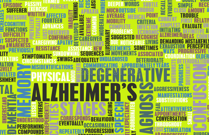 Download Alzheimer's stock illustration. Illustration of coping - 31506937