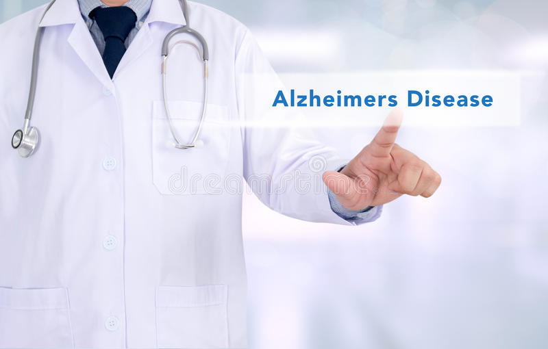 Alzheimers Disease concept stock images