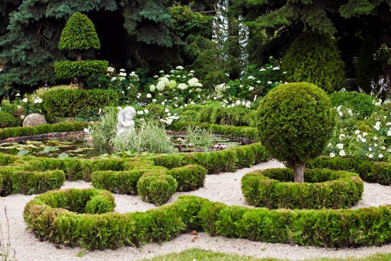 Download Aménagement De Conception De Jardin Photo stock - Image du jardin, nature: 77161102