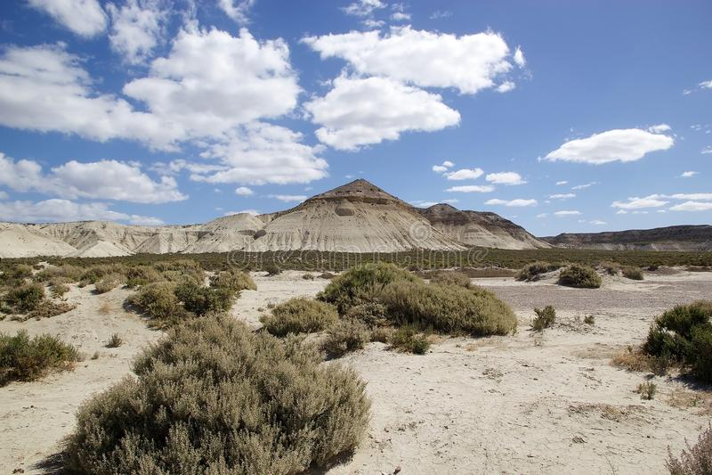 Aménagez en parc après Punta Loma près de Puerto Madryn, une ville dans la province de Chubut, Patagonia, Argentine image libre de droits
