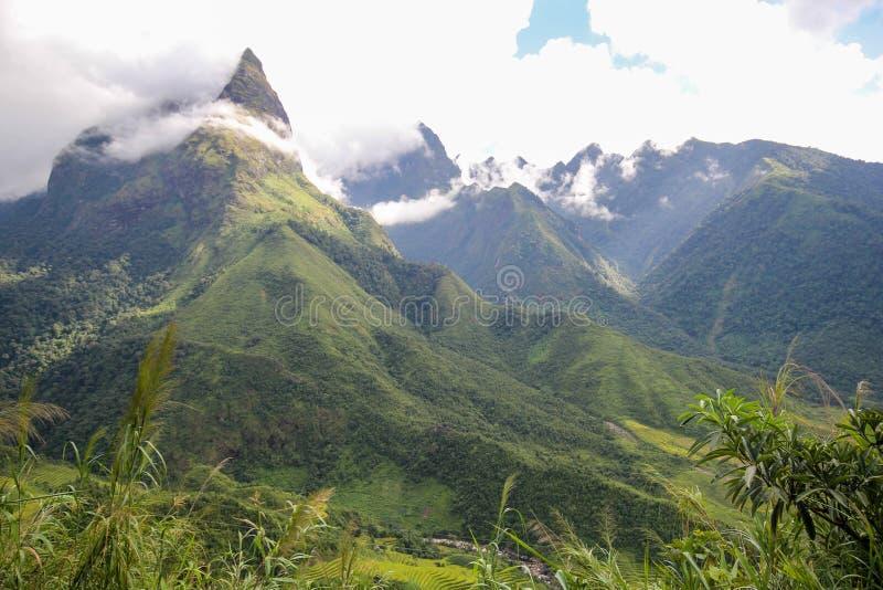 Aménagez le Mountain View en parc de Sapa, secteur de Sapa, Lao Cai Province, Vietnam du nord-ouest photo stock