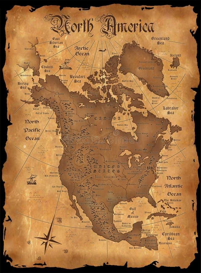América ilustração do vetor