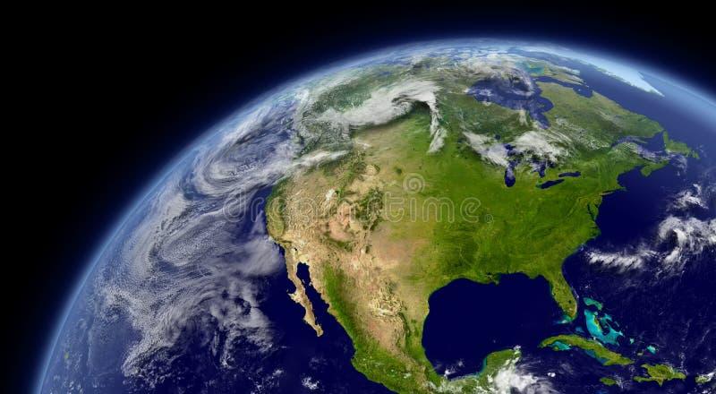 América do Norte ilustração royalty free