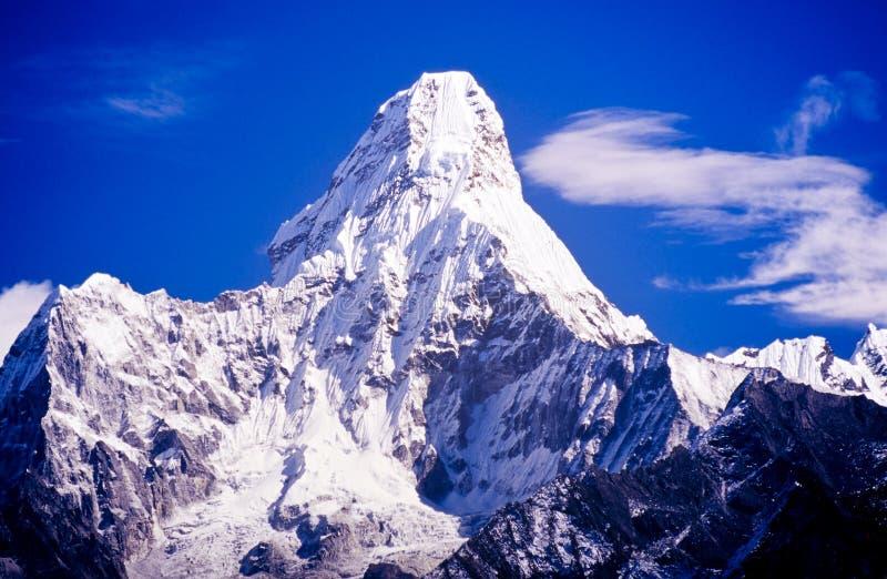 Ama Dablam, Νεπάλ Ιμαλάια στοκ φωτογραφία με δικαίωμα ελεύθερης χρήσης