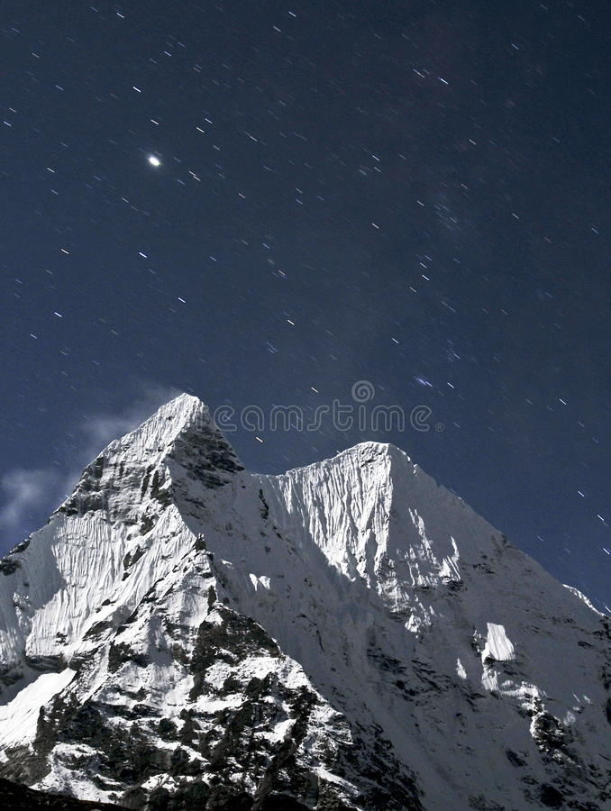 Free Ama Dablam Royalty Free Stock Images - 13343979