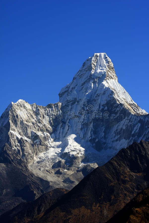 Download Ama Dablam Mountain Nepal Stock Photos - Image: 14742273