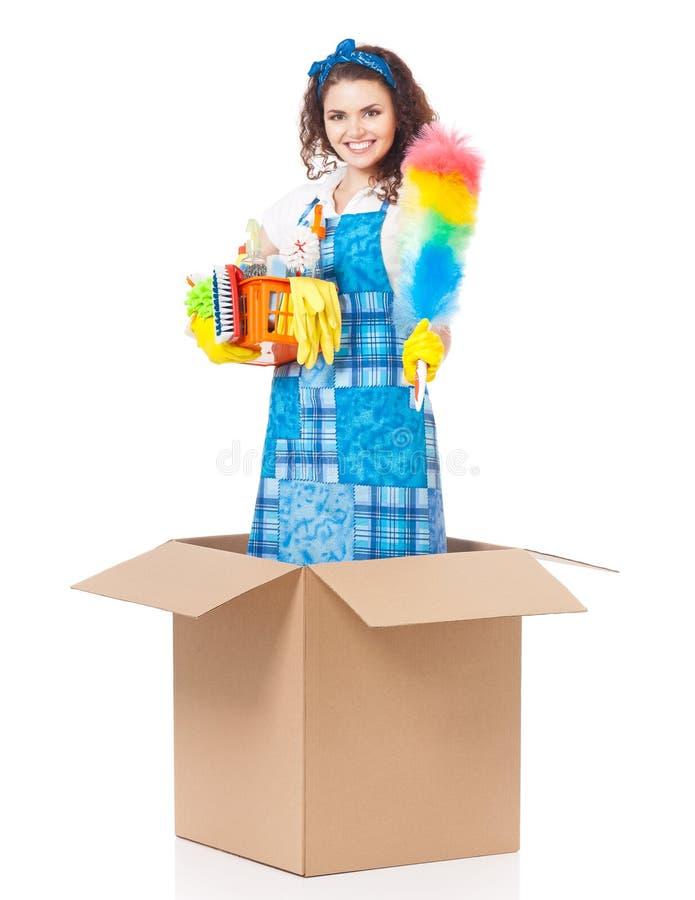 Ama de casa joven imagen de archivo libre de regalías