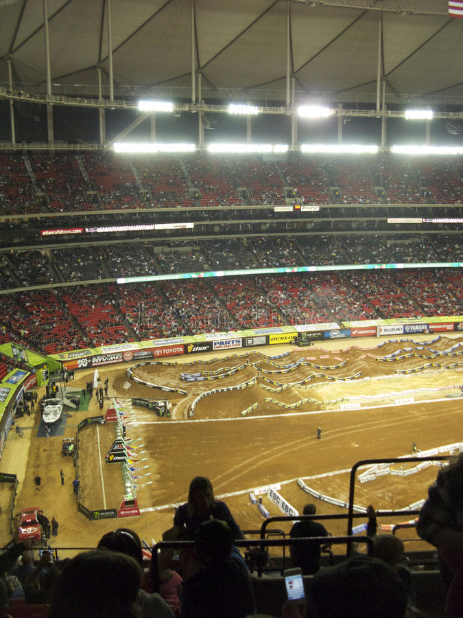 Download AMA Supercross In Atlanta, Georgia Editorial Photography - Image: 23983172