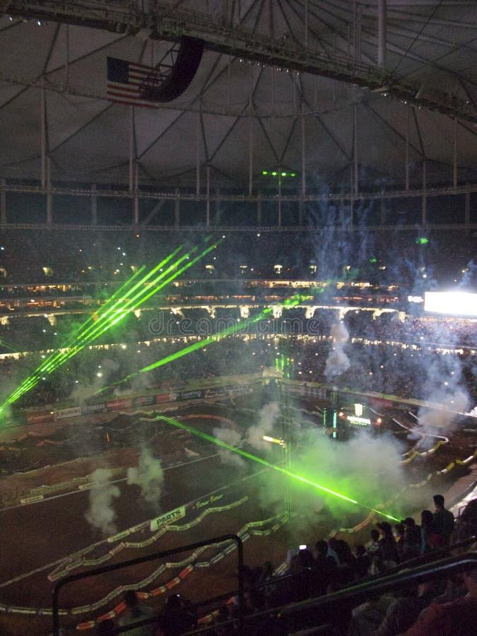 AMA Supercross in Atlanta, Georgia stockbilder