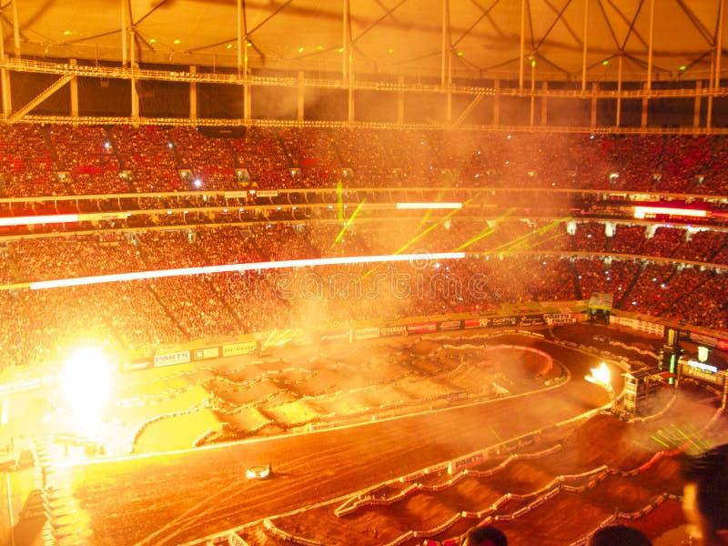 AMA Supercross em Atlanta, Geórgia fotos de stock royalty free