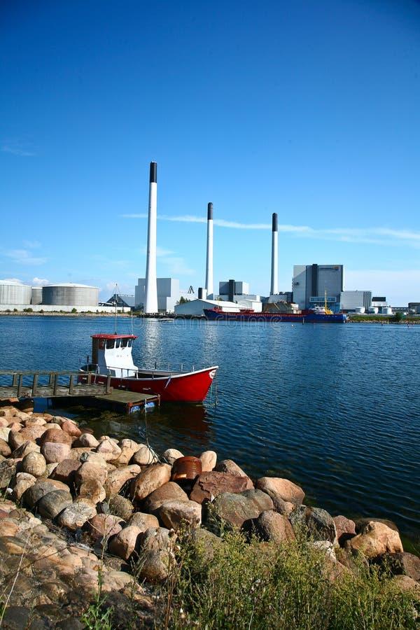 AMAGER elektrownia Vattenfall zdjęcia royalty free