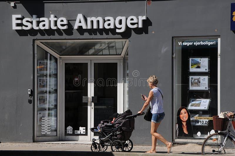 AMAGER-FASTIGHETSMÄKLARE arkivbilder