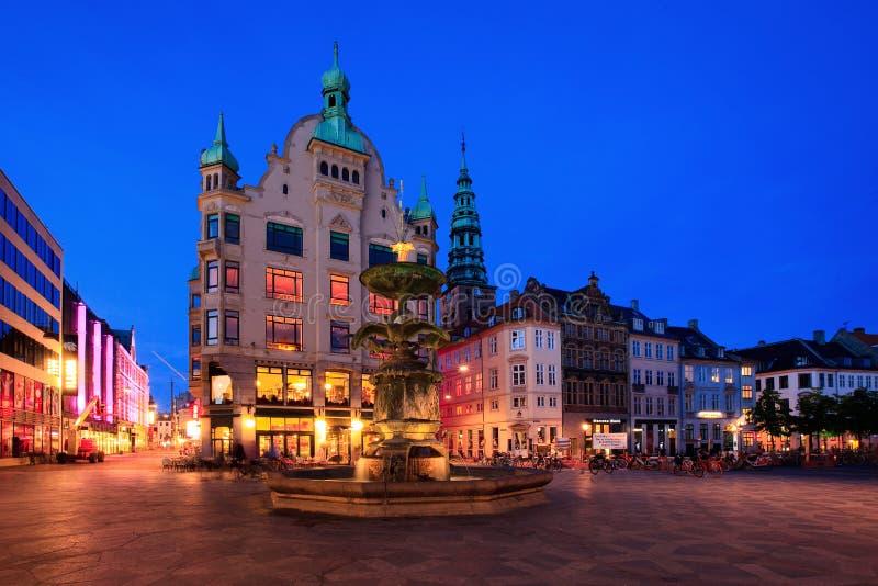amagertorv Copenhagen obraz royalty free