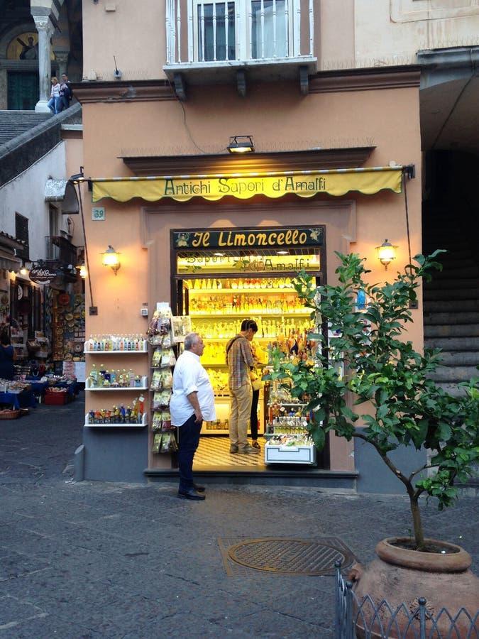 Amalfi imagen de archivo