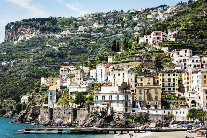 Amalfi-coast Stock Photography