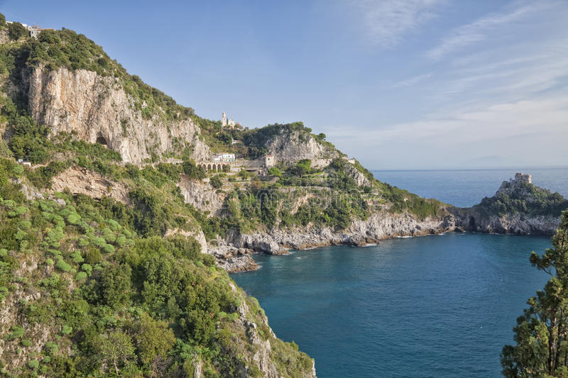 Download Amalfi Coast stock image. Image of water, view, steep - 29526653
