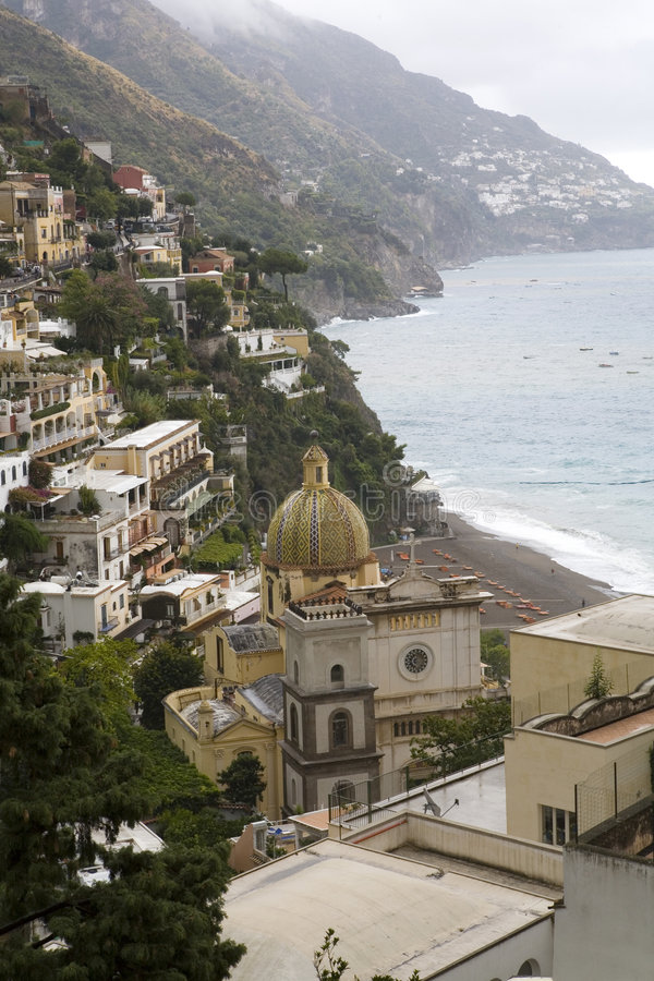 Download Amalfi Coast stock photo. Image of houses, ocean, stone - 3202252