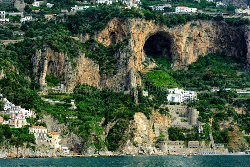 Amalfi coast, Campania, Italy royalty free stock images