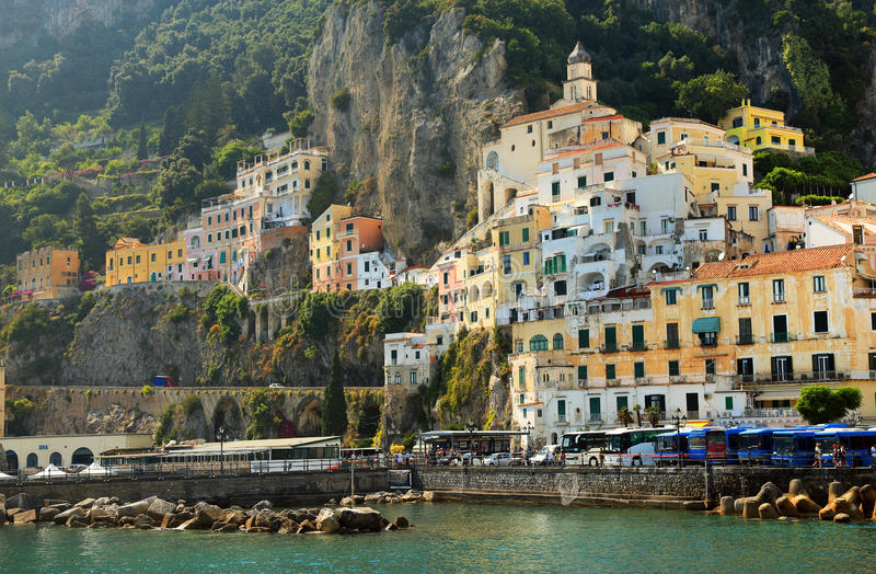 Download Amalfi Coast, Campania, Italy Stock Image - Image of place, mediterranean: 39514791