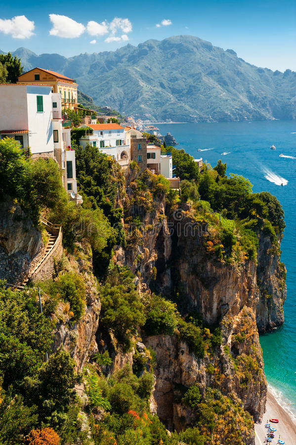 Download Amalfi coast, Italy stock photo. Image of place, famous - 25587678