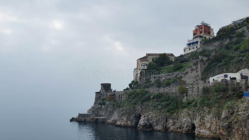 Amalfi Coast& x27; s krajobraz obrazy royalty free