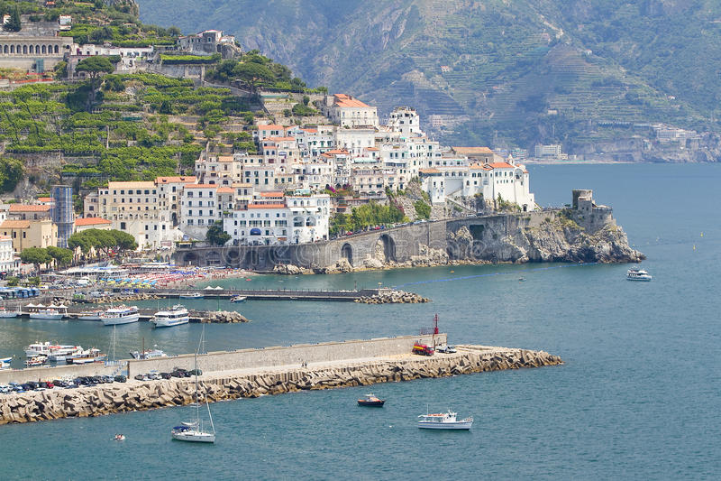 Amalfi, Itália fotos de stock royalty free