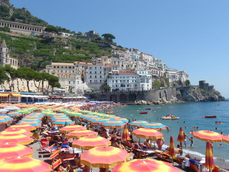 Amalfi Italië royalty-vrije stock foto