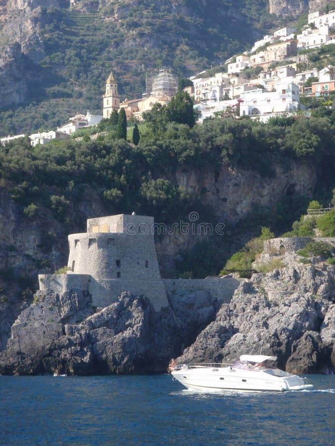 Amalfi Italië stock afbeeldingen