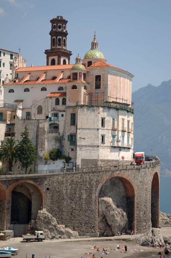Amalfi Kust, Italië royalty-vrije stock fotografie