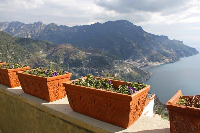Amalfi Kust, Italië stock afbeeldingen