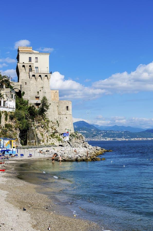 Amalfi Kust, Italië stock foto's