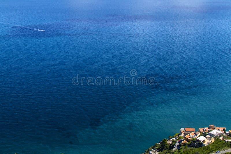 Amalfi kust - Italien arkivbild
