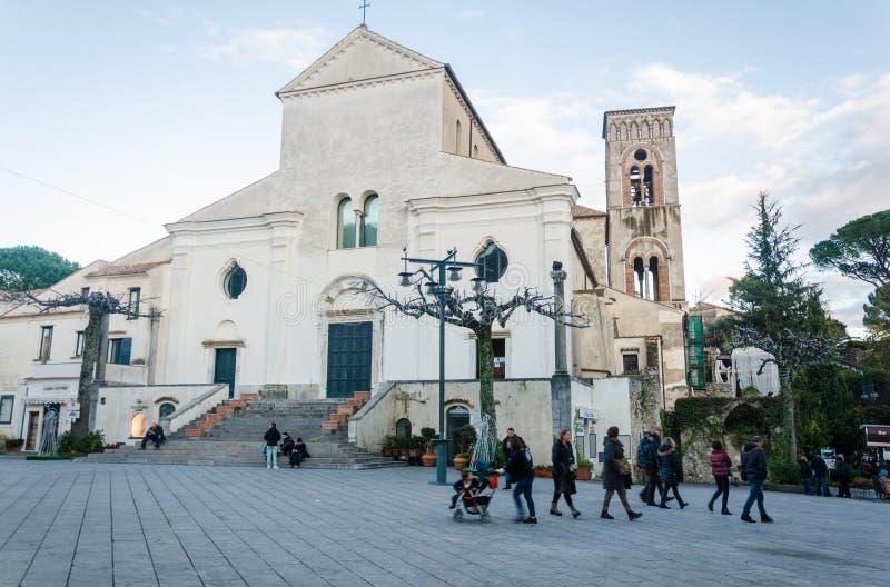 Amalfi kust - Ravello arkivbild