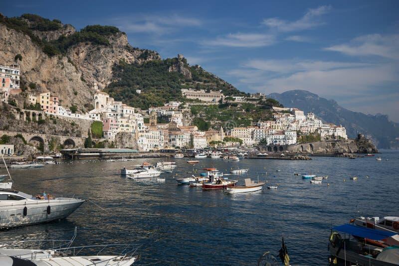 Amalfi, Salerno, campania, Italia immagini stock
