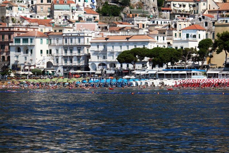 Amalfi Strand royalty-vrije stock fotografie
