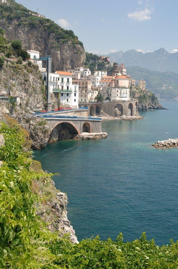 amalfi wybrzeża Włochy obraz royalty free
