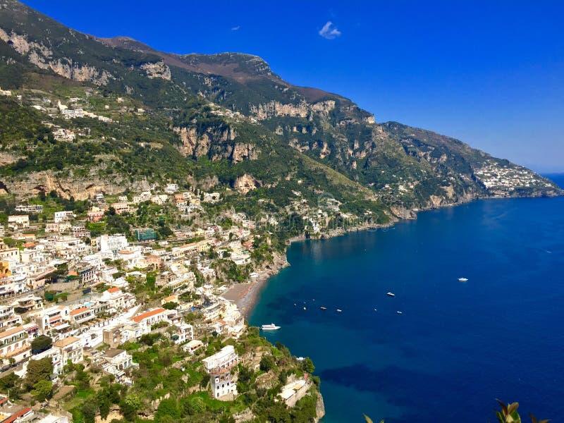 Amalfi wybrzeże obraz royalty free