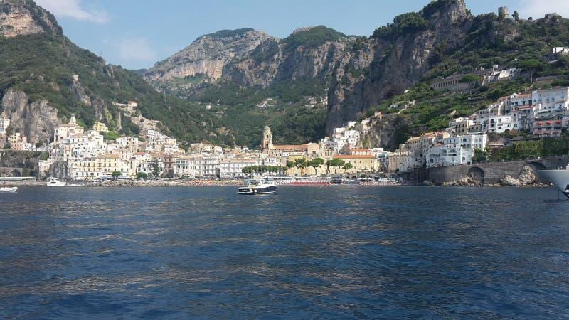 Amalficoast w Włochy obraz royalty free
