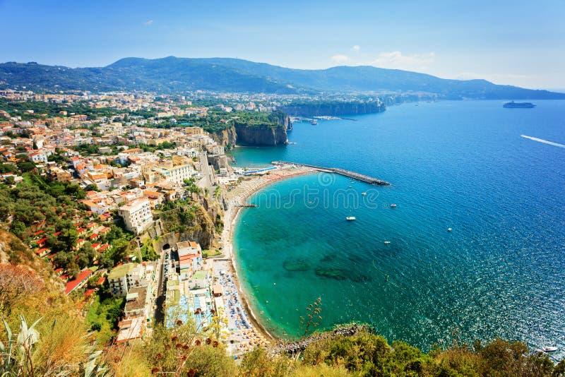 Amalfitan kust royaltyfri bild